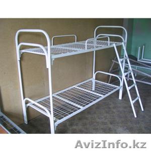 Металлические кровати одноярусные и двухъярусные от производителя оптом - Изображение #3, Объявление #924519