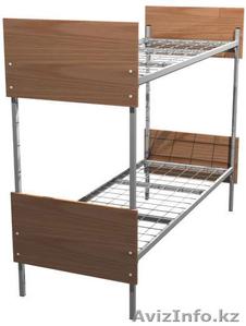 Металлические кровати одноярусные и двухъярусные от производителя оптом - Изображение #6, Объявление #924519