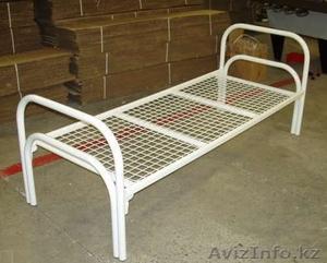 Металлические кровати одноярусные и двухъярусные от производителя оптом - Изображение #5, Объявление #924519