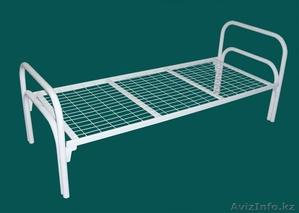 Металлические кровати для больницы, кровати двухъярусные и одноярусные оптом - Изображение #1, Объявление #1105901