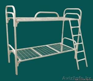 Металлические кровати для больницы, кровати двухъярусные и одноярусные оптом - Изображение #2, Объявление #1105901