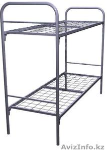 Кровати металлические двухъярусные, кровати для рабочих, кровати оптом. - Изображение #6, Объявление #1415382