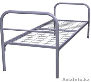 Кровати металлические двухъярусные, кровати для рабочих, кровати оптом. - Изображение #3, Объявление #1415382