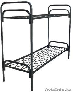 Кровати металлические двухъярусные, кровати для рабочих, кровати оптом. - Изображение #1, Объявление #1415382