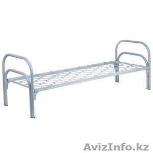 Кровати металлические двухъярусные, кровати для рабочих, кровати оптом. - Изображение #2, Объявление #1415382