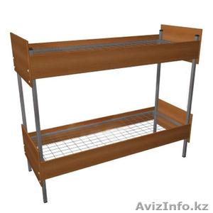 Кровати металлические одноярусные, кровати металлические двухъярусные, опт. - Изображение #2, Объявление #1435287