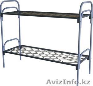 Кровати металлические одноярусные, кровати металлические двухъярусные, опт. - Изображение #4, Объявление #1435287