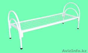 Кровати металлические для времянок, кровати металлические для рабочих, оптом. - Изображение #4, Объявление #1433328