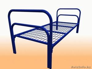 Кровати металлические для времянок, кровати металлические для рабочих, оптом. - Изображение #2, Объявление #1433328