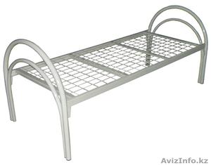 Кровати металлические одноярусные, кровати металлические двухъярусные, опт. - Изображение #3, Объявление #1435287