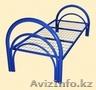 Металлические кровати одноярусные и двухъярусные для рабочих, строителей, отелей - Изображение #7, Объявление #924522