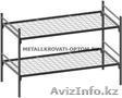 Металлические кровати одноярусные и двухъярусные для рабочих, строителей, отелей - Изображение #9, Объявление #924522