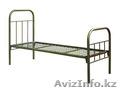 Металлические кровати с ДСП спинками для пансионатов, кровати для гостиниц, опт, Объявление #1424151
