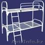 Железные двухъярусные кровати для бытовок, кровати для общежитий, оптом - Изображение #5, Объявление #1418602